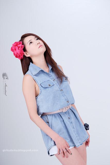 10 Han-Ga-Eun-Denim-Shirt-01-very cute asian girl-girlcute4u.blogspot.com