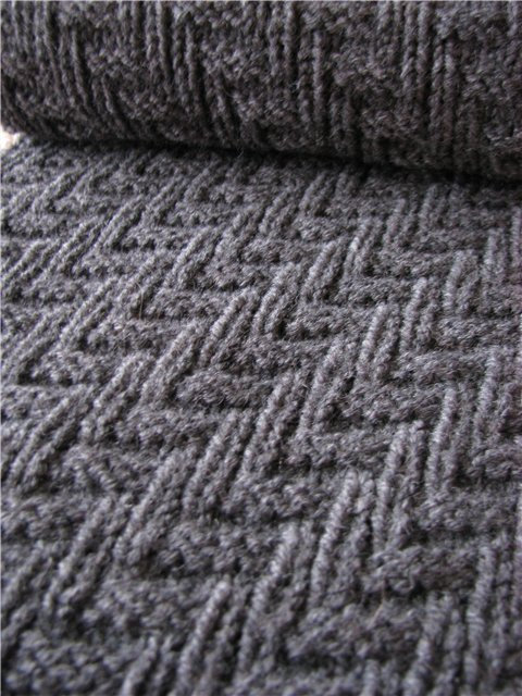 Easy Scarf Knitting Patterns For Men : Knitting&Crochet Obsession: Pattern that is Perfect of a Mans Scarf