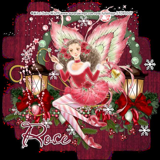 rose tuts: Christmas Fairy 1 PTU