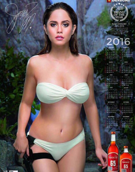Jessie Mendiola Tanduay girl 3