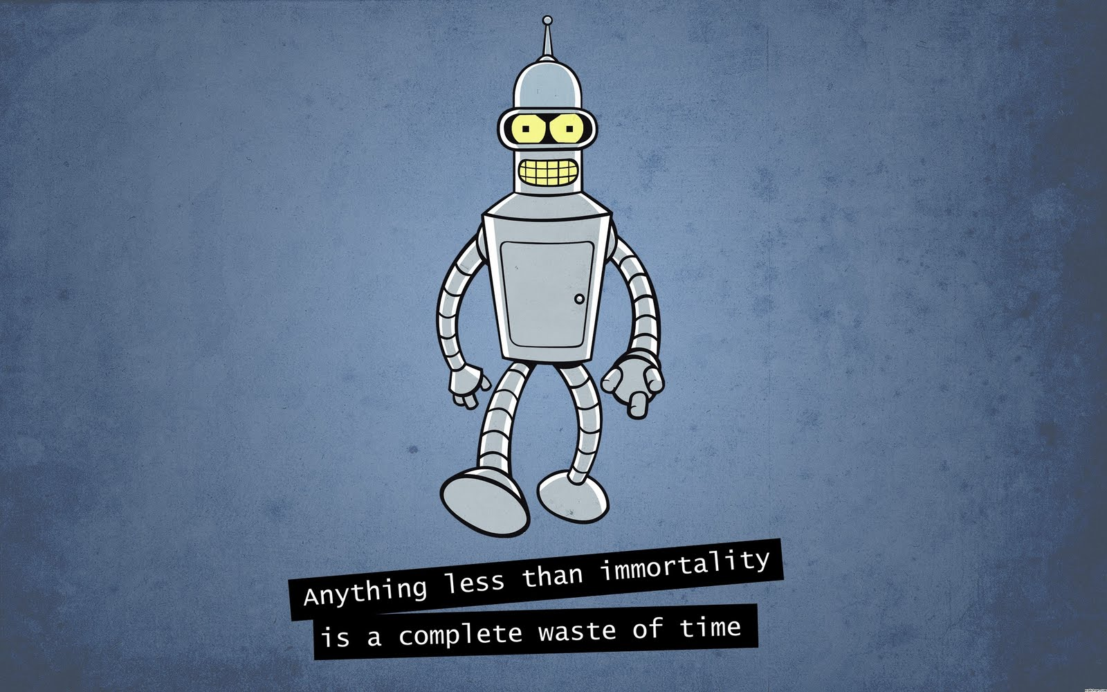 Futurama bender blackjack quote
