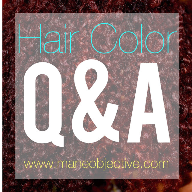 Hair Color Q&A for Natural Hair