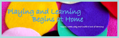 Playing and Learning Begins at Home
