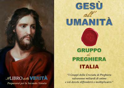 Gesù all'umanità (Italia)