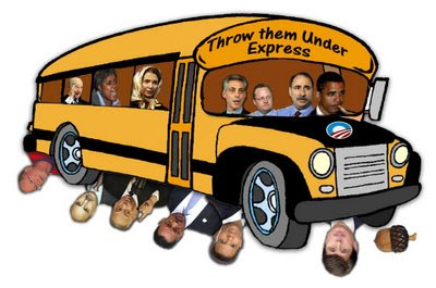 Obama throws his mama under the bus