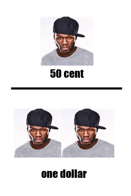 50 Cent One Dollar