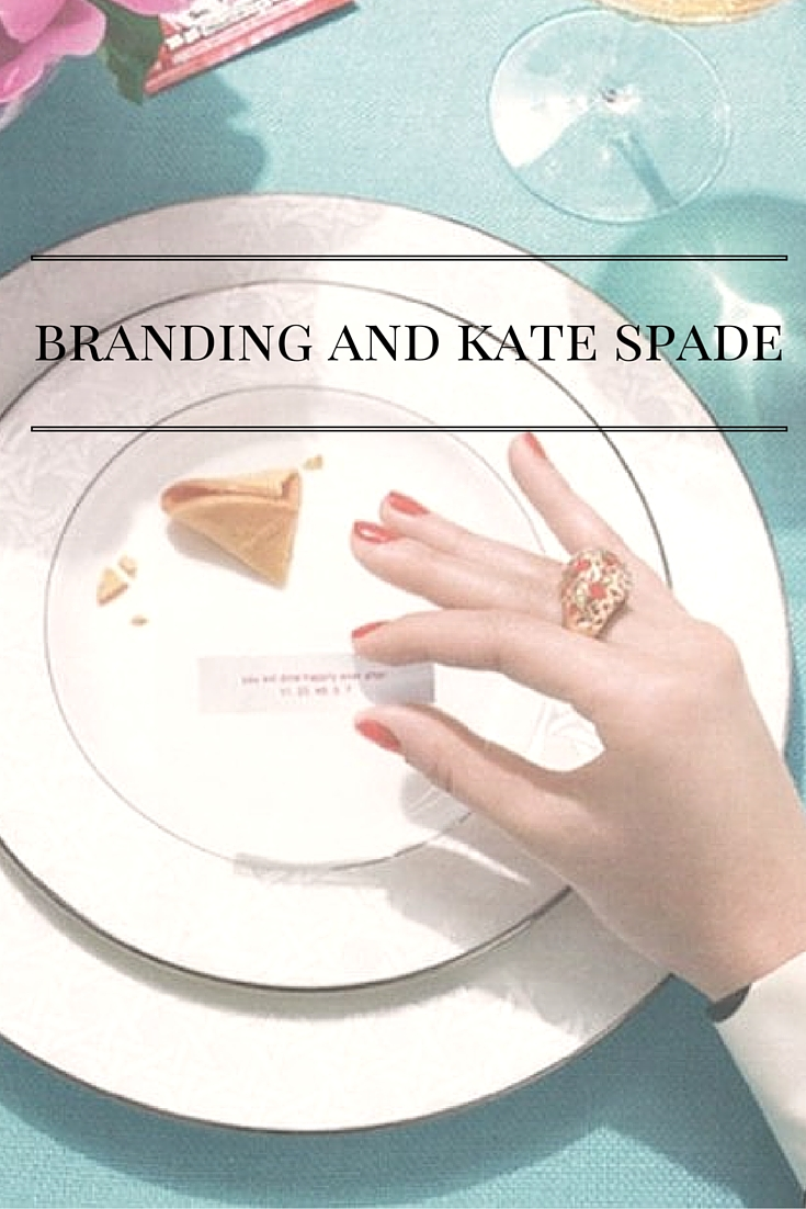 Branding And Kate Spade