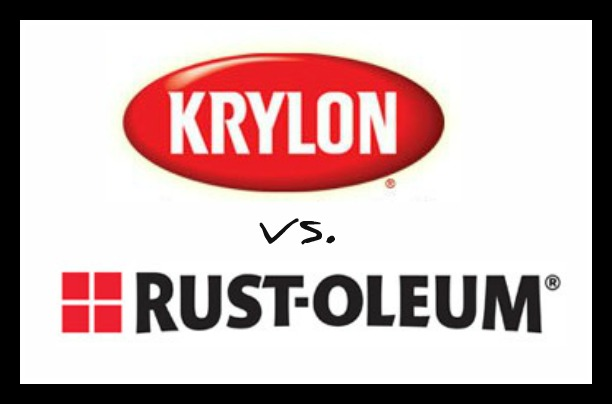 612 x 404 · 31 kB · jpeg, Krylon vs. Rustoleum: Spray Paint ...