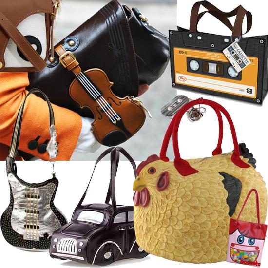 Alguns Modelos Funny Bags