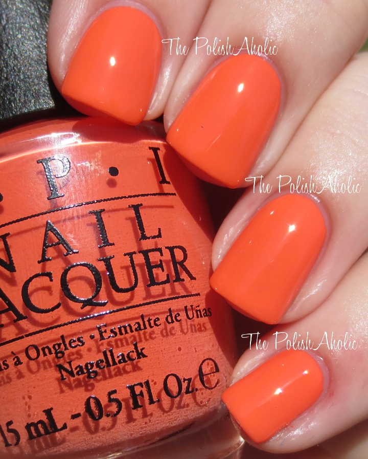 The PolishAholic: OPI Fall 2014 Nordic Collection Swatches & Review