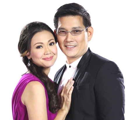 Maya (Jodi Sta. Maria) and Sir Chief (Richard Yap) of noontime phenomenon, Be Careful With My Heart