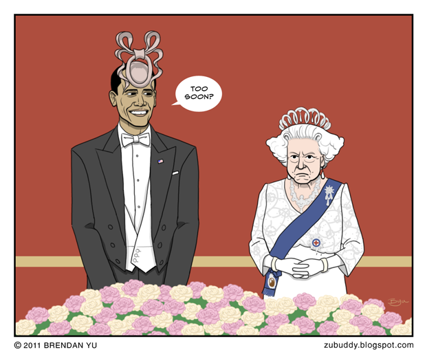 State Dinner at Buckingham Palace