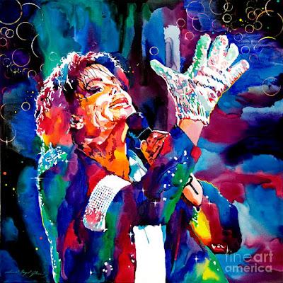 Michael Jackson Ilustraciones Dibujos A Color