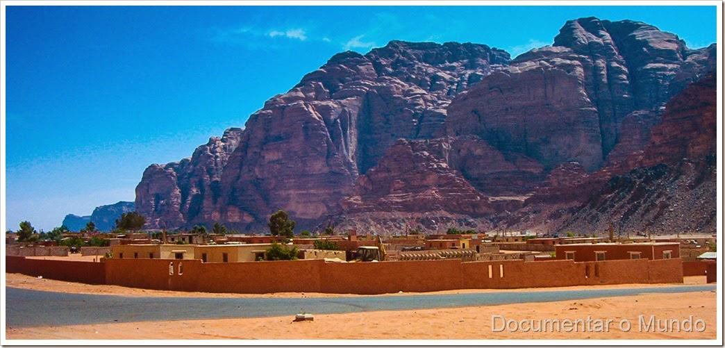 Aldeia de Rum, Wadi Rum, Jordânia