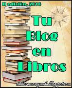 Reto Tu blog en libros 2016