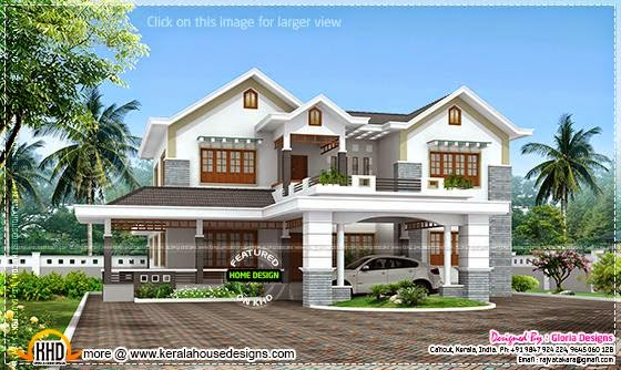 Beautiful home 3D