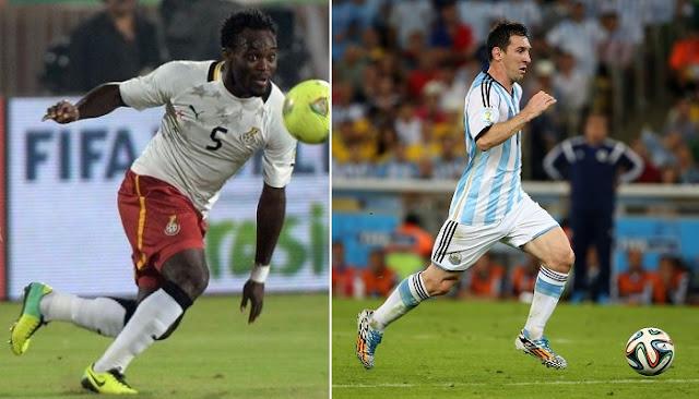 Argentina vs Ghana en vivo