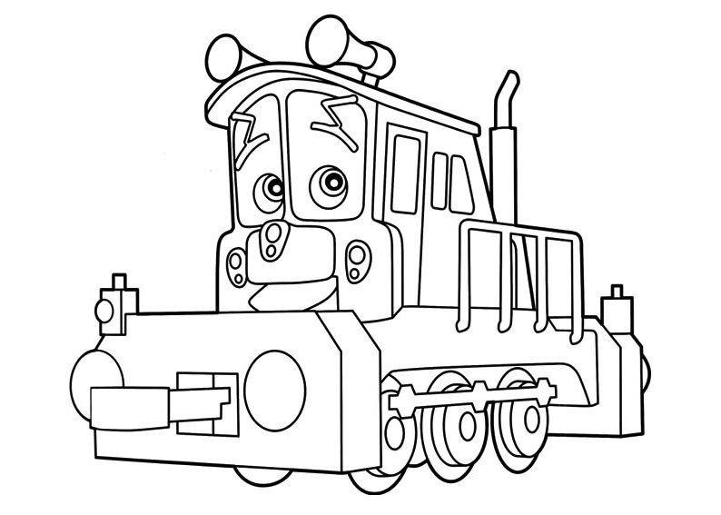chuggington dibujos para colorear vlc peque
