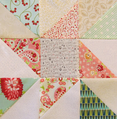 How to make a Nine Patch Star Quilt Pattern by The Quilt Ladies