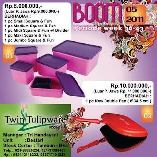 BOOM Tulipware | September Oktober 2011