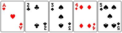 Como se juega poker 5 cartas