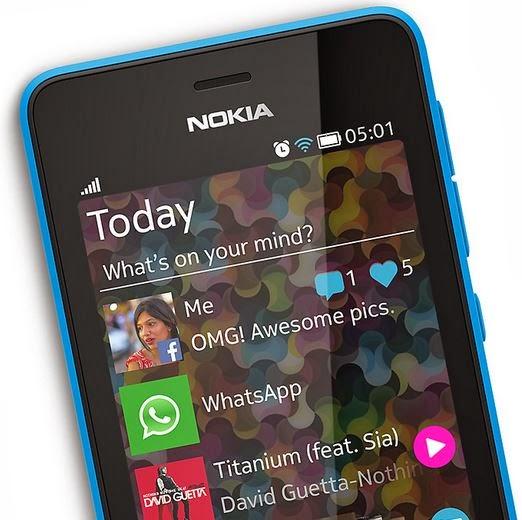 Own a Nokia Asha 501? Download Whatsapp for your Nokia Asha smartphone