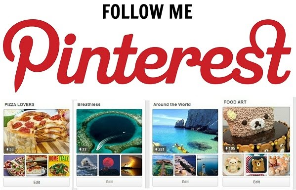 Follow Me at Pinterest