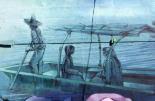 Muros del Mercado de Jamaica sirven de lienzo para pintar murales