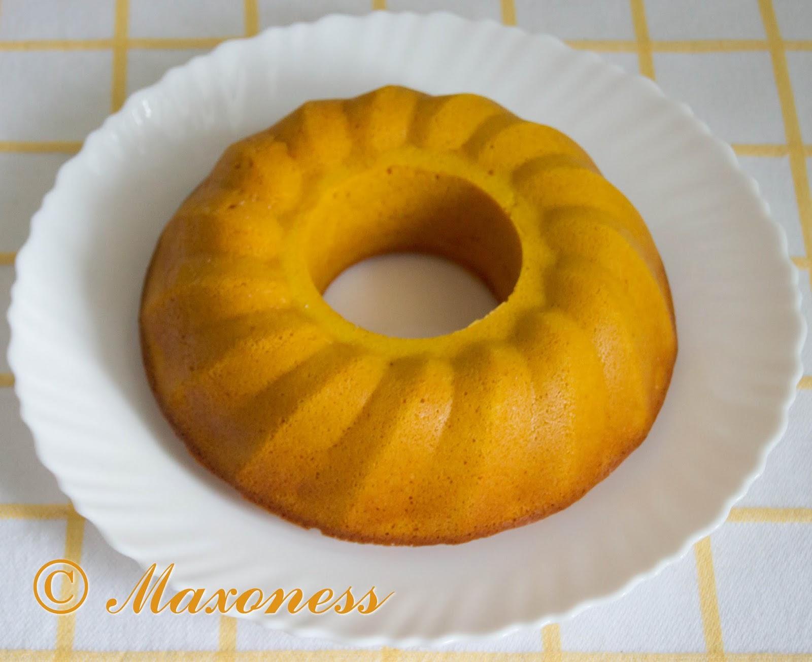 Манный кекс с куркумой и мёдом. Африканская кухня.