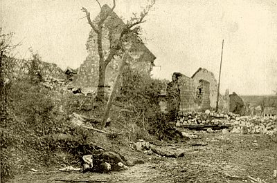 Aftermath at Carency, 1915
