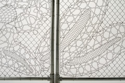 Lace Fence by The Dutch Design House Demakersvan