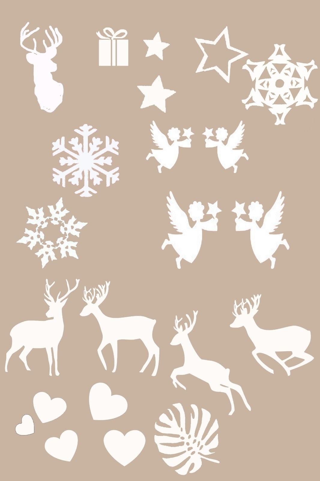 Bruja burbujas etiquetas y cosas para navidad - Plantillas de decoracion ...