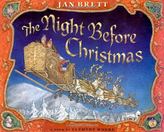 bookcover of THE NIGHT BEFORE CHRISTMAS  by Jan Brett
