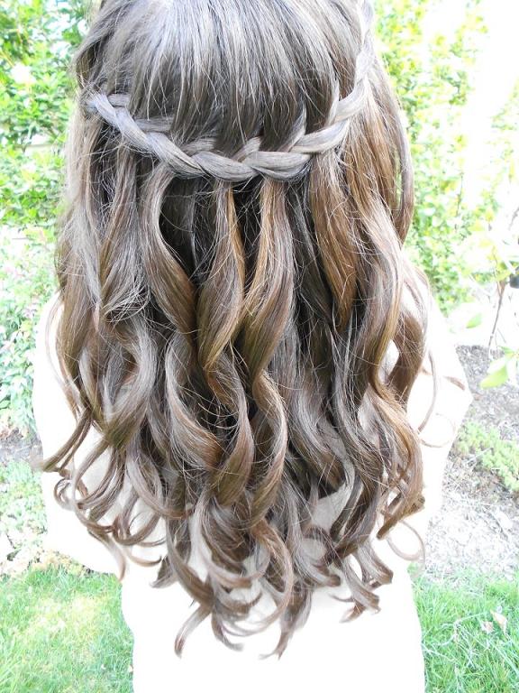 29 Peinados Con Trenzas Cascada Mujeres  Peinados cortes - Bat Mitzvah Hairstyles