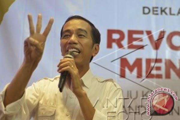 Jokowi-jk 60,40 Persen Kotabaru