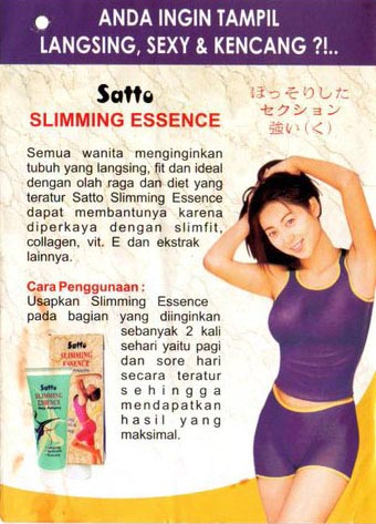 Satto Sliming Essence Info