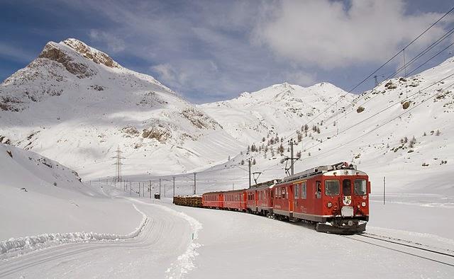 Iarna in Elvetia