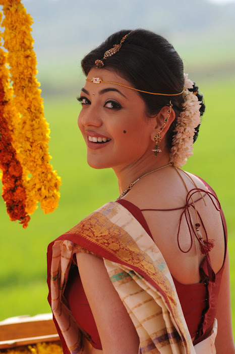 kajal agarwal saree from mrperfect movie actress pics
