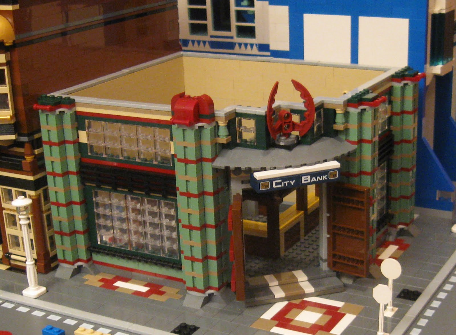 Randuwa Lego City Gets A Bank