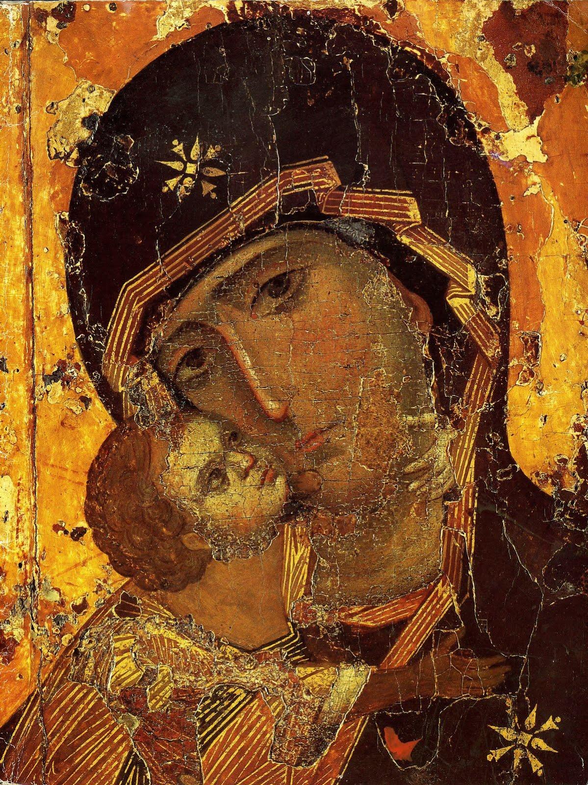 Maica Domnului icoana Sf Ap Luca aici MD Vladimir