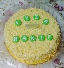 "Snow Cheesecake @ RM70(10"") RM65(9"") RM40(7"")"