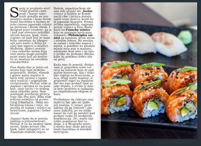 Fine Sushi i Mezze magazin