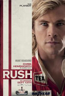 Rush Chris Hemsworth Poster