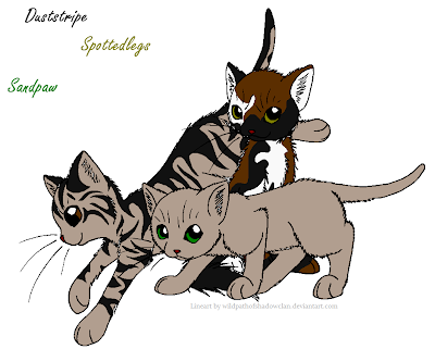 Warrior Cats Dappleberry
