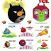 wordless wednesday : superhero versi angry birds