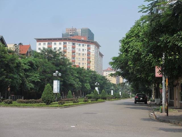 Chung cư bán đảo Linh Đàm
