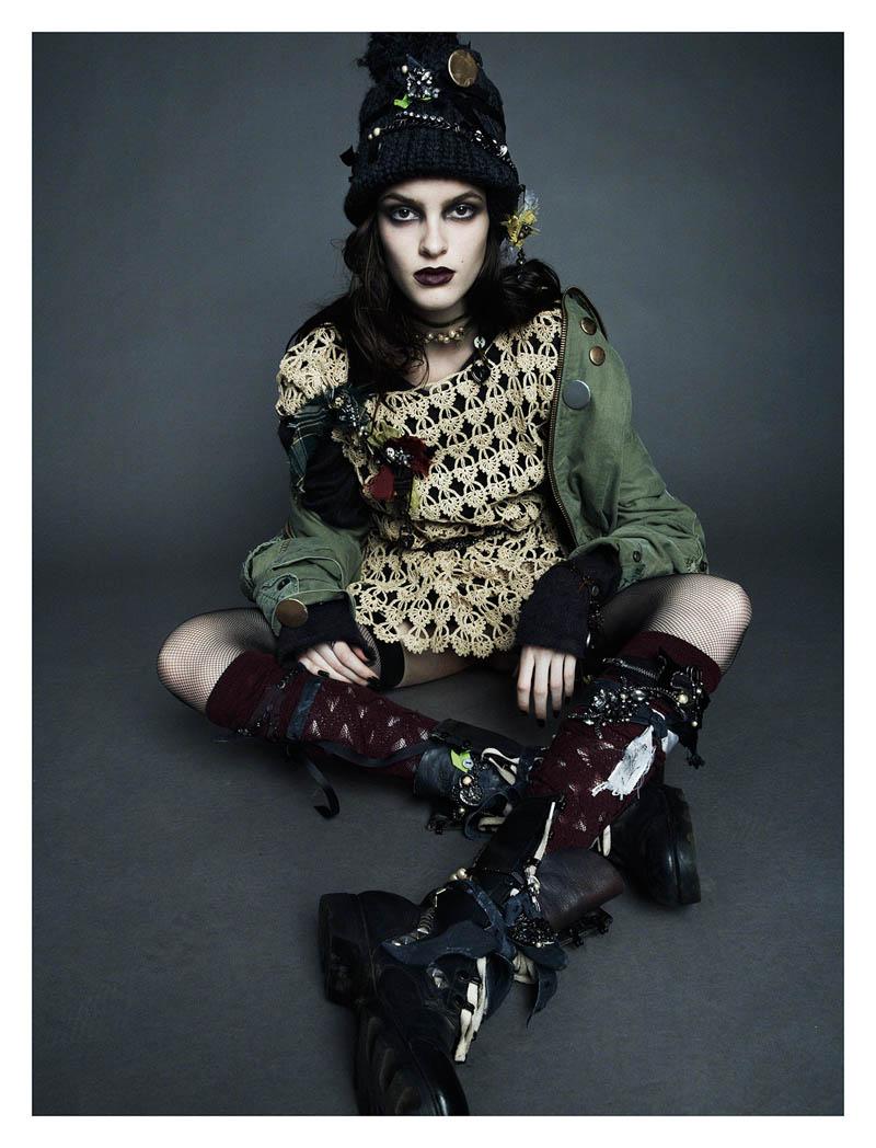 Bowery Girl Numero 144 Lensed By Greg Kadel Punk Rock Grunge Aquaskye