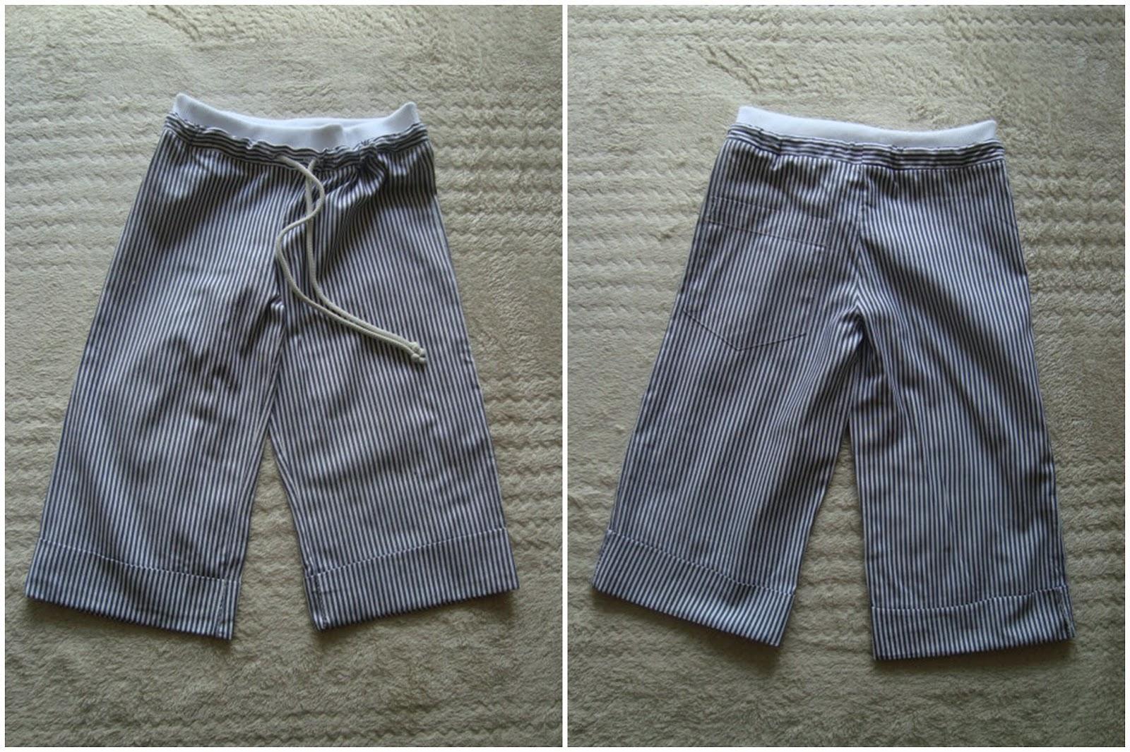 spodnie z Burdy