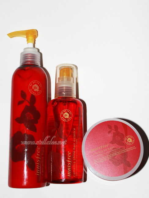 Review : Innisfree Camellia Oil Hair Care - Stella Lee ☆ Indonesia ...