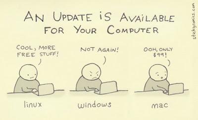 Hay nuevas actualizaciones para tu computadora